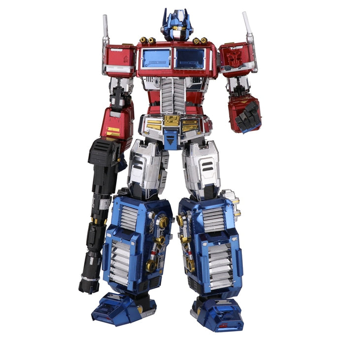 Metal Model Kit 3D Transformers G1 - Optimus Prime YM-L035G-C