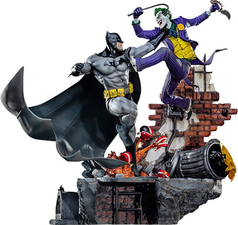 Iron Studios - Batman Vs The Joker  DC Diorama Series - Ivan Reis Preventa