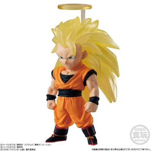 Bandai Candy Toy Dragon Ball Adverge Vol. 10 - Goku Super Saiyan 3