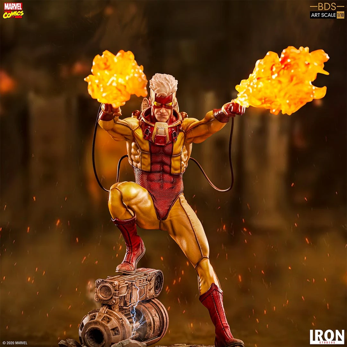 Iron Studios: X Men - Pyro Escala 1/10