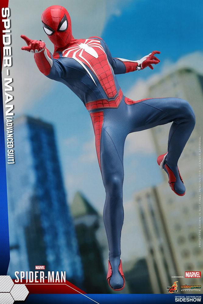 Hot Toys Spider-Man Advanced Suit Preventa