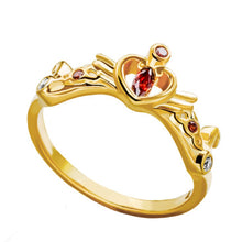 Anillo Sailor Moon Princess Serenity (Dorado)