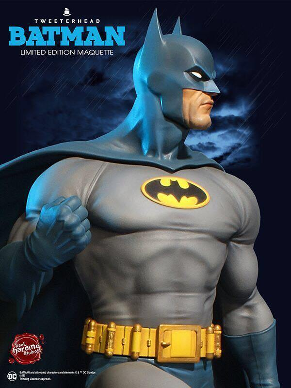 Tweeterhead DC Super Powers Batman Statue Maquette Preventa