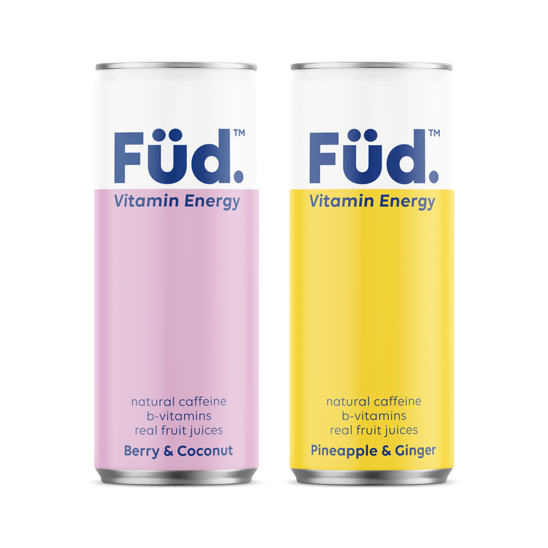 Fud Vitamin Energy - Berry & Coconut and Pineapple & Ginger