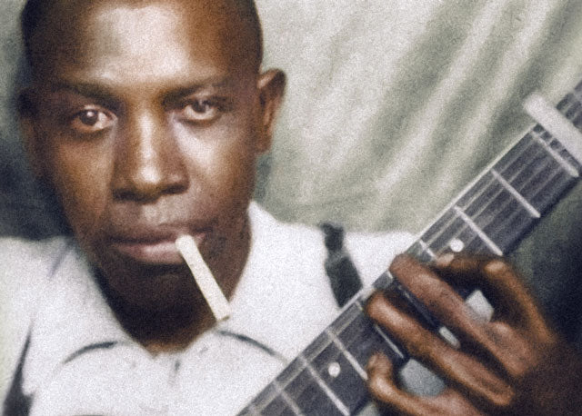 1935: Robert Johnson, blues singer and guitarist
