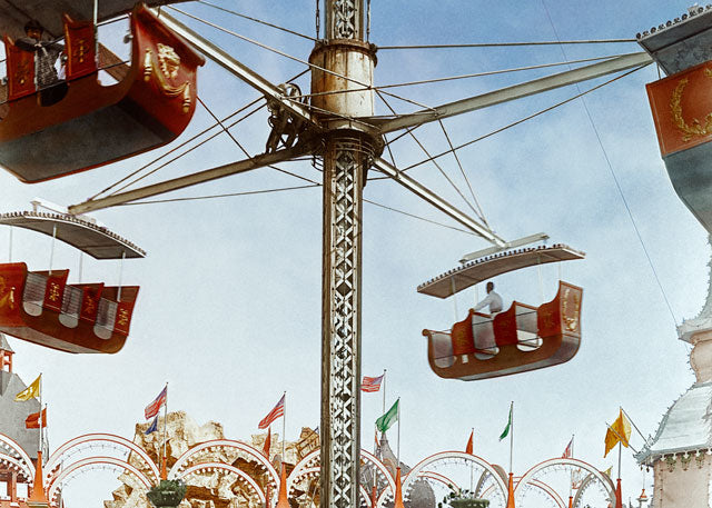 1904: A ride at Coney Island's Luna Park