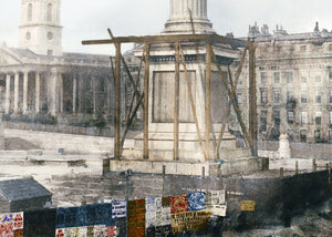 1844: Construction of Nelson's Column