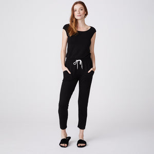 Super Soft Jumpsuit with Patch Pockets