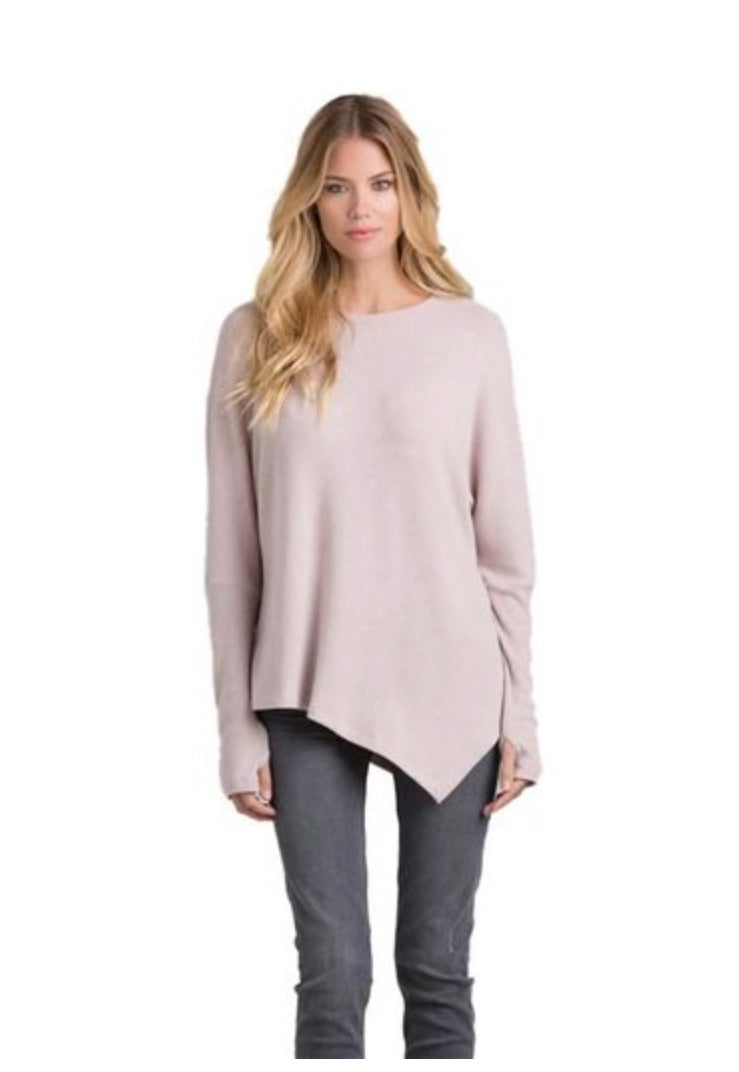 Claxton Asymmetrical Long Sleeve Top