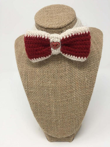 Red and Ivory Bow Tie