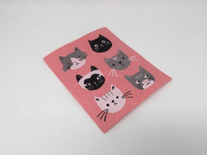 Cat Face Swedish Dish Cloth