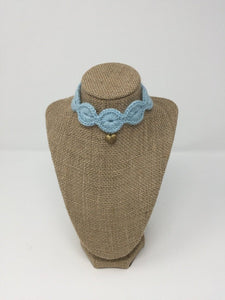 Light Blue Love Collar