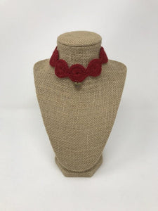 Red Love Collar