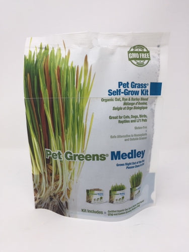 Organic Pet Plant Medley Self-Grow Kit