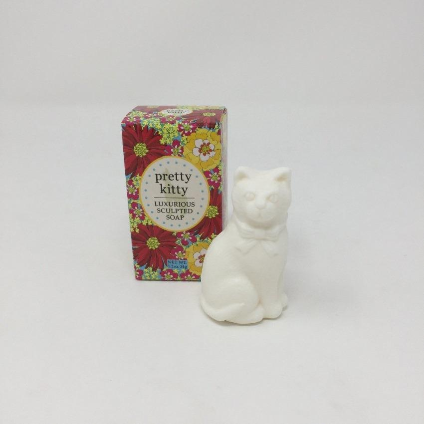 Scented Soap - White Cat