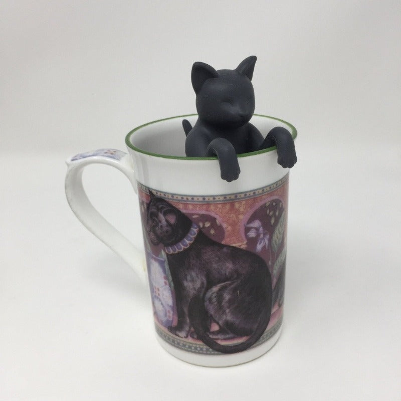 Grey Cat Tea Infuser
