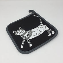 Pot Holder - Downtown Cool Cats