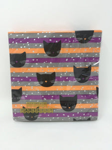 Cocktail Napkins - Black Cats