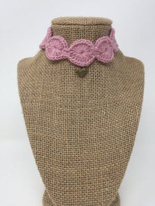 Mauve Pink Love Collar