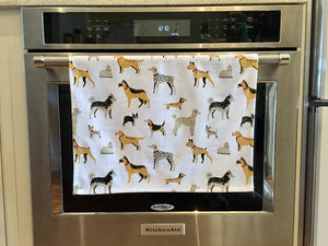 Dish Towel - Dogs Galore