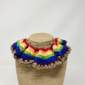 Rainbow Royal Ruff Collar