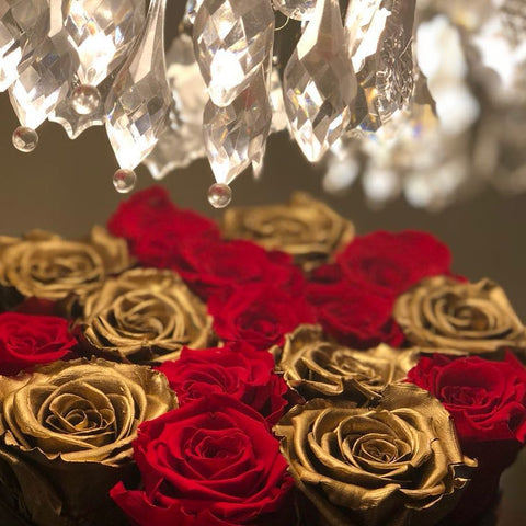 24K Gold Foil Rose With Gift Box