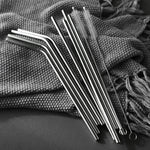 Eco-Friendly Stainless Steel Drinking Straws - Sick Stuff