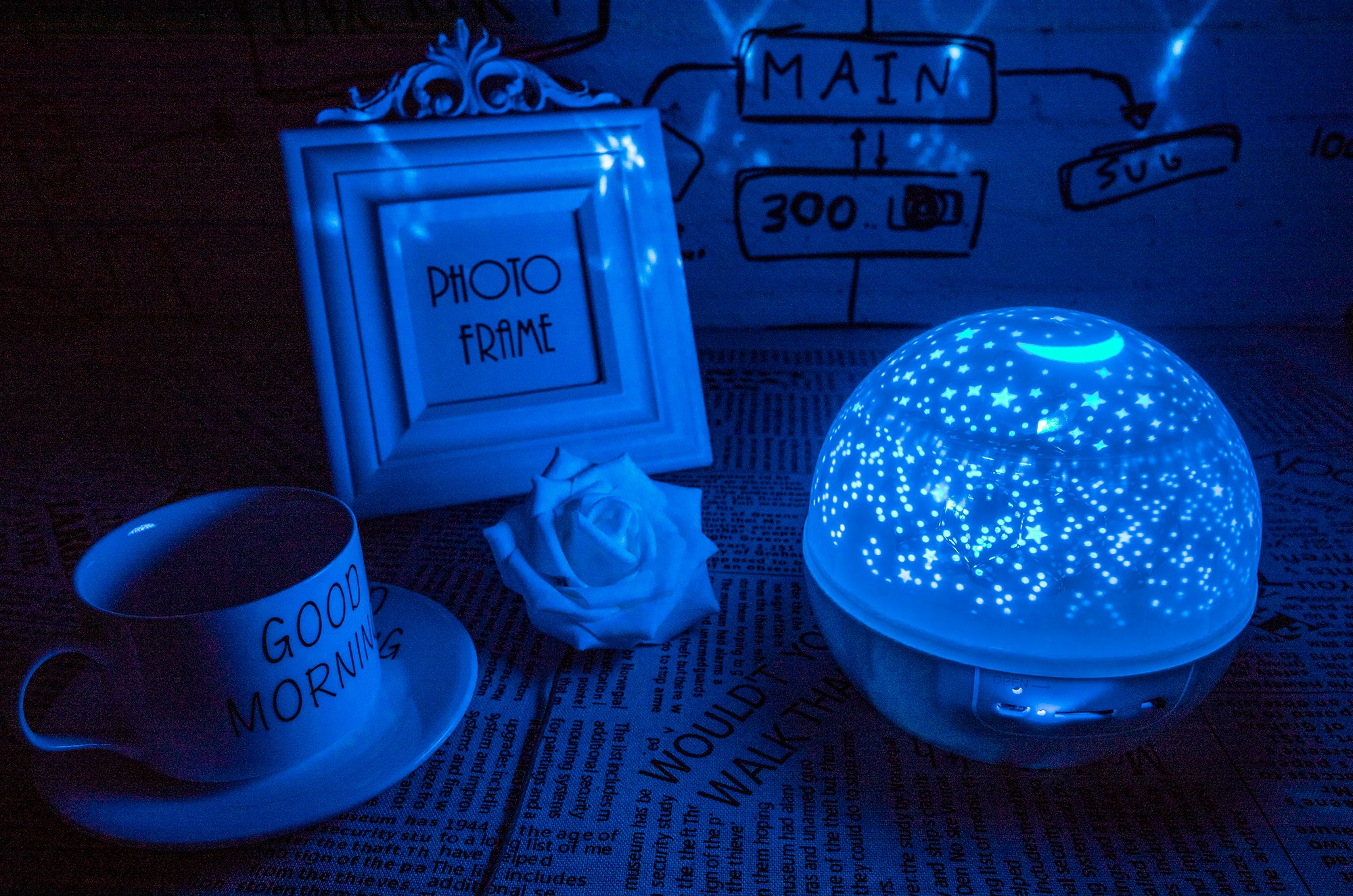 Fantasy Dream Light™ - Personalized Night Light Projector Lamp