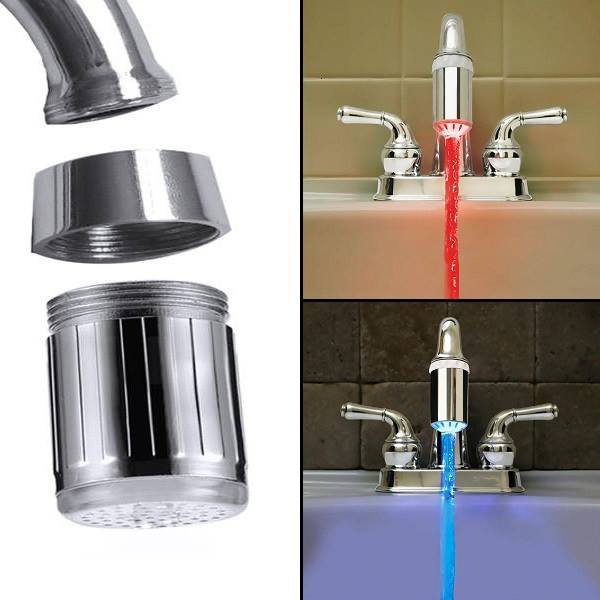 Rainbow Faucet™ - Smart Temperature Sensor LED Faucet Light - Sick Stuff