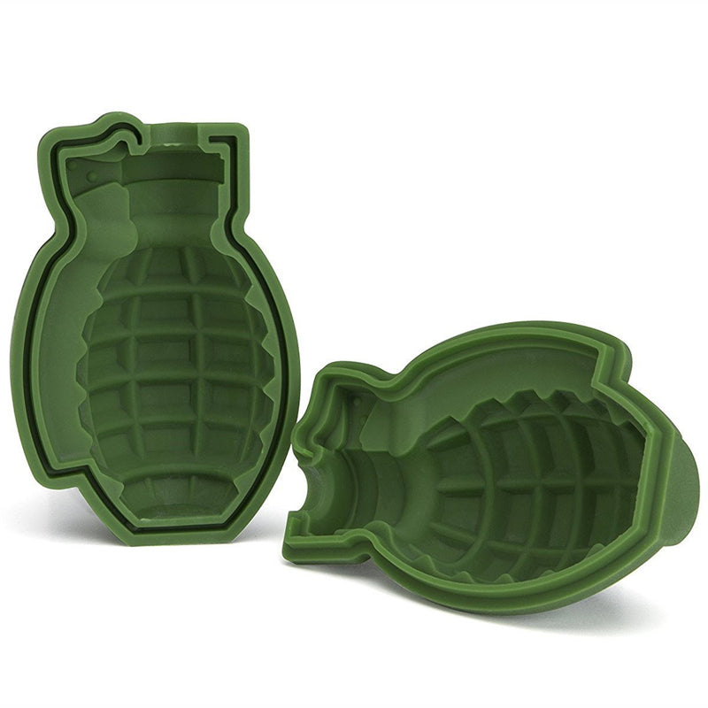3D Grenade Ice Cube Mold - Sick Stuff