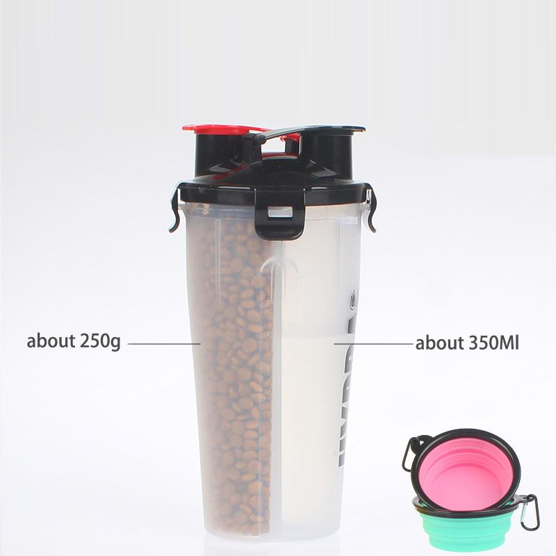 2-IN-1 Pet Travel Bottle - Sick Stuff