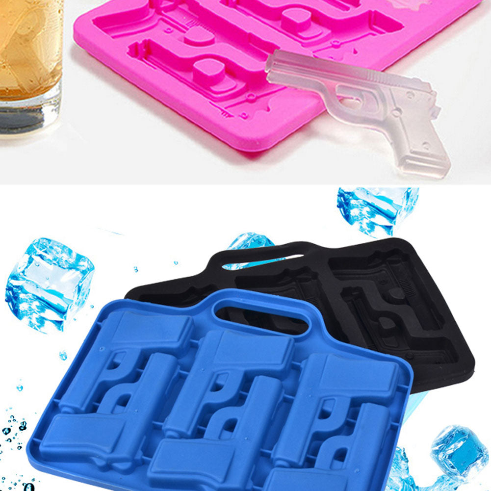 Freeze!™ - Pistol Ice Cube Mold - Sick Stuff
