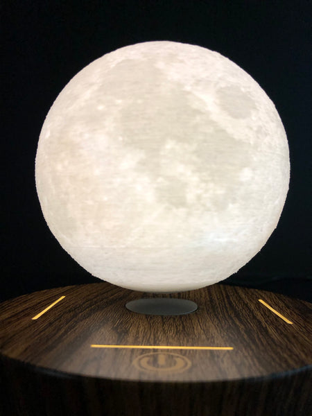 Hover Luna Magnetic Levitating Moon Light Lamp Sick Stuff