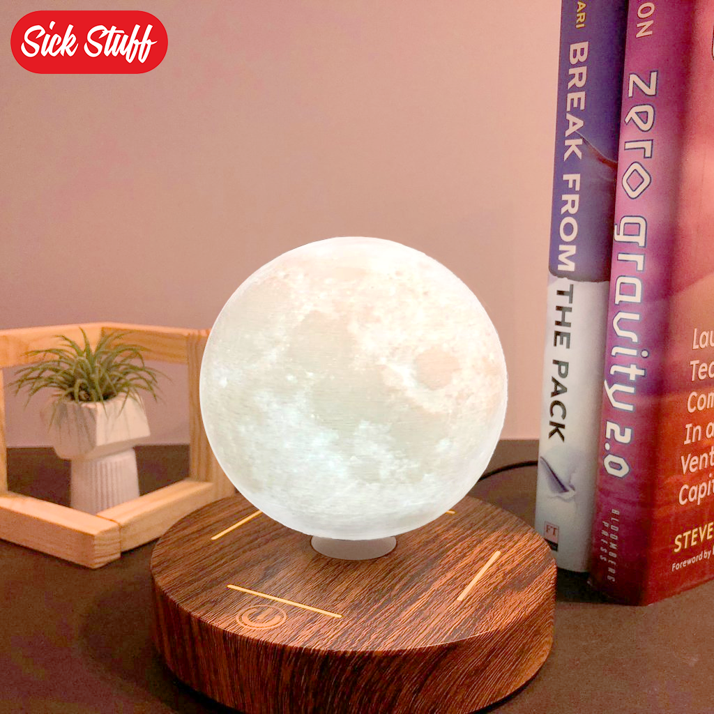 Hover Luna™ - Magnetic Levitating Moon Light Lamp - Sick Stuff