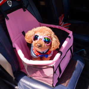 Pet Safety Seat - Foldable Car Seat for Pets - Sick Stuff
