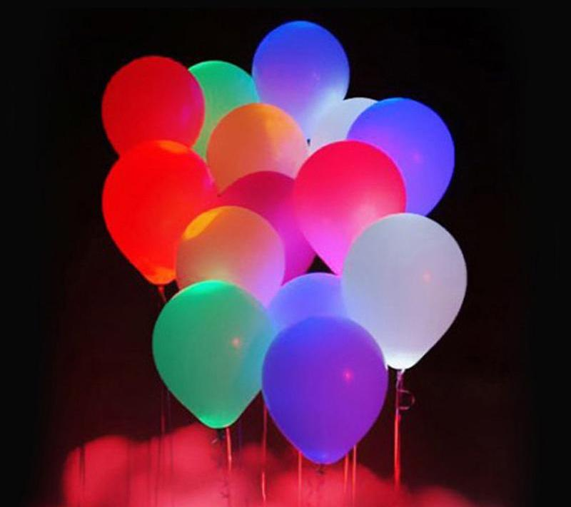 LED Light Balloons - Sick Stuff