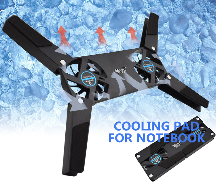 Folding USB Notebook Cooling Pad