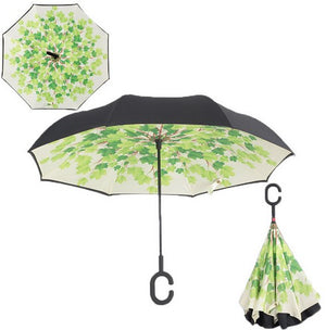 Windproof Double Layer Inverted Umbrella - Sick Stuff