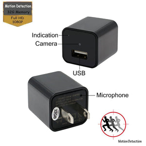 SpyExtreme™ - Full HD 1080p USB Charger & Security Camera - Sick Stuff