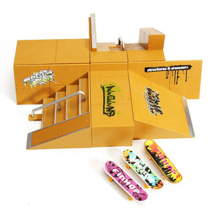 Fingerboard Ramp Complete Set - B - Sick Stuff