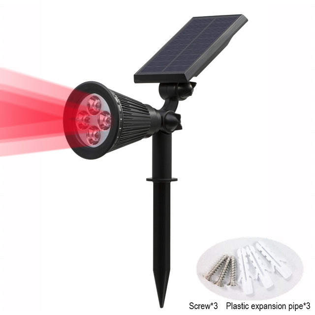 Adjustable Solar Spotlight