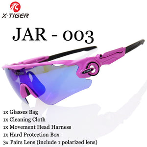 X-TIGER Polarized Cycling Glasses