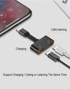2 in 1 Charging Audio Adapter - Sick Stuff