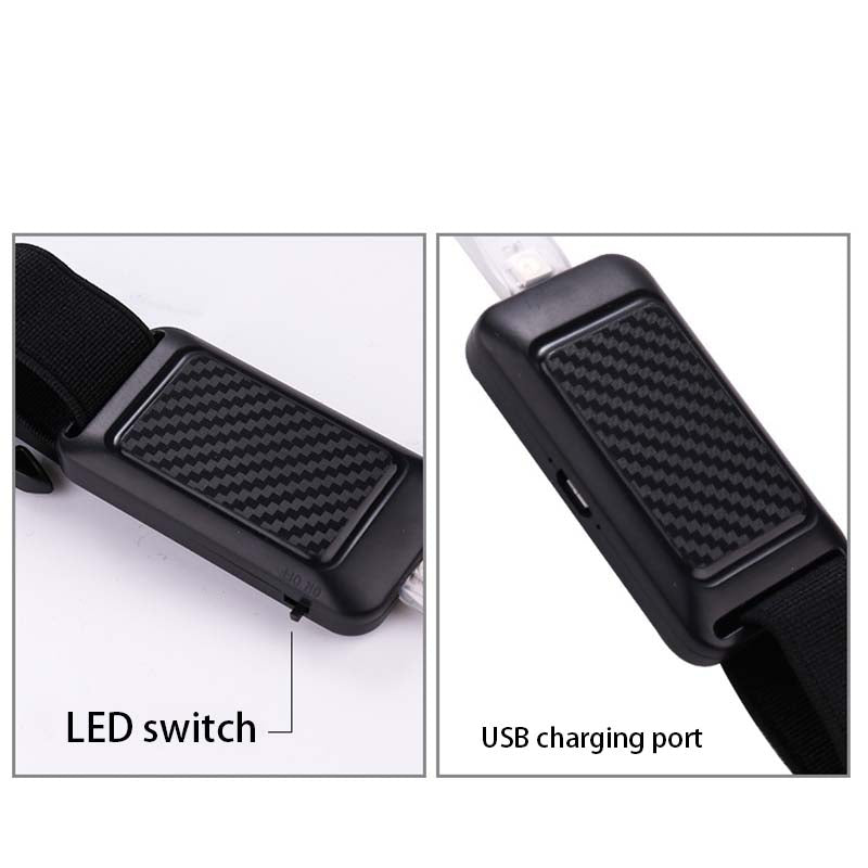 LED Safety Waist Belt