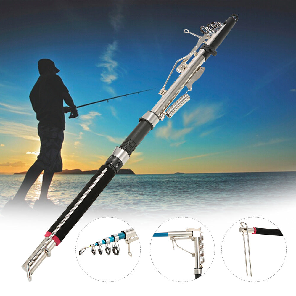 Sensitive Telescopic Automatic Fishing Rod - 2.1/2.4/2.7m
