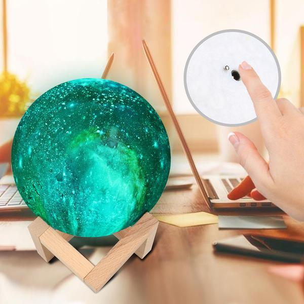 Luna 2™ - Multicolored Moon Light Lamp