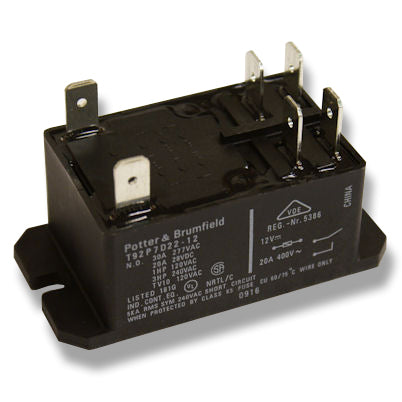 25 Amp Relay (Black Case)