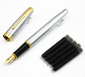 Business Fountain Pen w/ Gold Trim - LFE's Art Studio