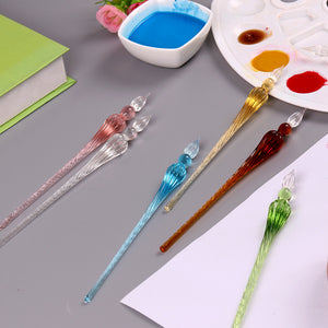 Deluxe Quality Glass Dip Pens