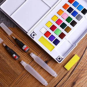 Solid Water Color Sets - LFE's Art Studio